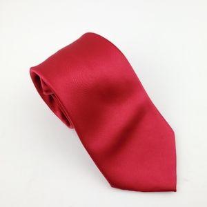 Croft & Barrow Solid Red Tie